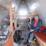 Morning in a Glaciology Hut