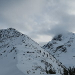Summit ridge with Joffre