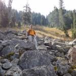 Ascending to N Needle Ridge