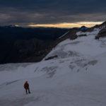 Geoff on Bugaboo Glacier